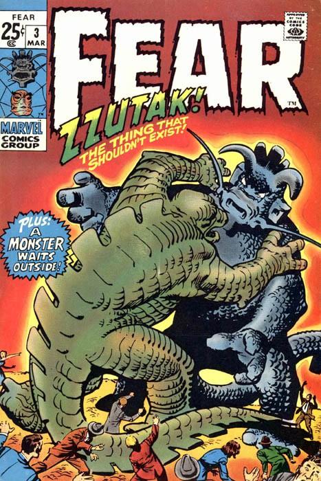 Couverture de Adventure into Fear (Marvel comics - 1970) -3- Zzutak the Thing That Shouldn't Exist!!