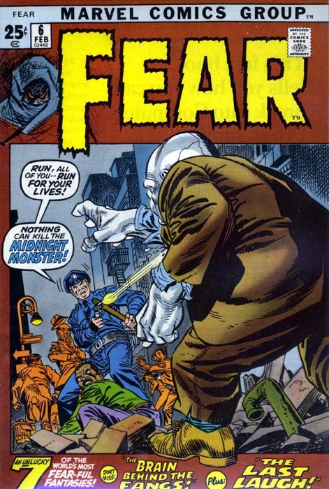 Couverture de Adventure into Fear (Marvel comics - 1970) -6- The Midnight Monster