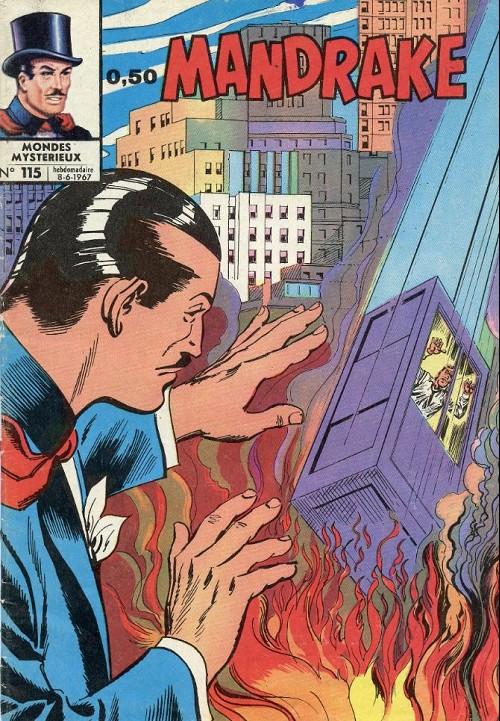 Couverture de Mandrake (1e Série - Remparts) (Mondes Mystérieux - 1) -115- Ascenseur pour l'enfer