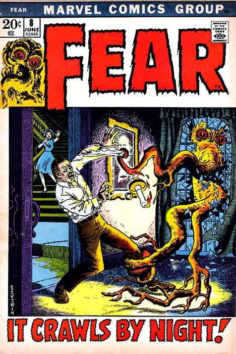 Couverture de Adventure into Fear (Marvel comics - 1970) -8- It Crawls By Night!