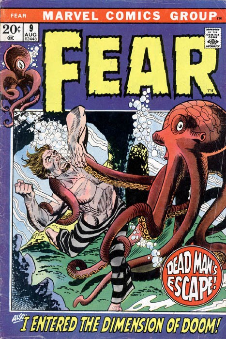 Couverture de Adventure into Fear (Marvel comics - 1970) -9- I Entered the Dimension of Doom!