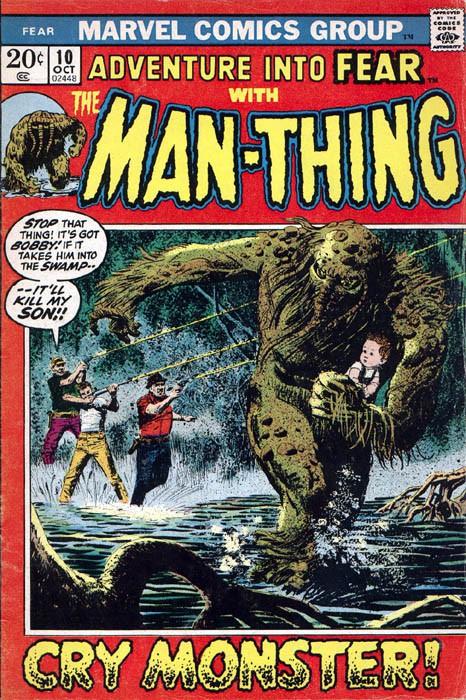 Couverture de Adventure into Fear (Marvel comics - 1970) -10- Cry monster!