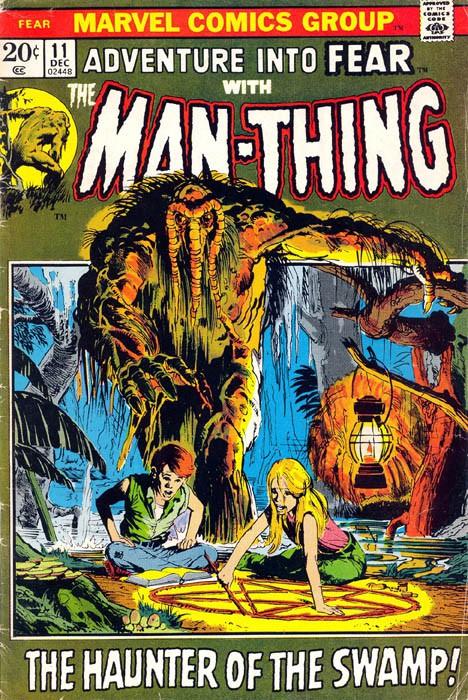 Couverture de Adventure into Fear (Marvel comics - 1970) -11- The haunter of the swamp!