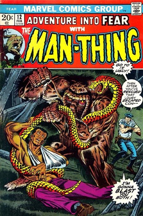 Couverture de Adventure into Fear (Marvel comics - 1970) -12- No Choice of Colors
