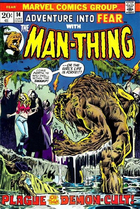 Couverture de Adventure into Fear (Marvel comics - 1970) -14- Plague of the Demon-Cult!