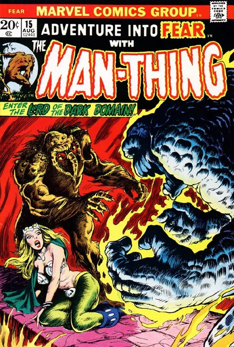 Couverture de Adventure into Fear (Marvel comics - 1970) -15- Enter the Lord of the Dark Domain!