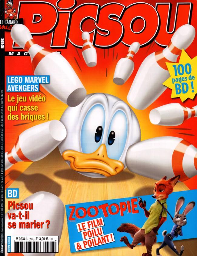Couverture de Picsou Magazine -518- Picsou Magazine n° 518