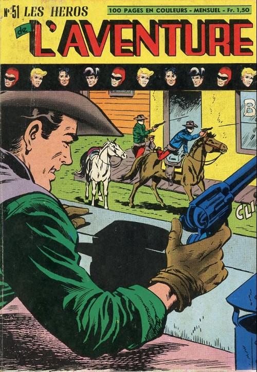 Couverture de Les héros de l'aventure (Classiques de l'aventure, Puis) -51- Le Fantôme : attaque de la banque