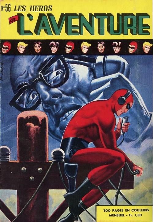 Couverture de Les héros de l'aventure (Classiques de l'aventure, Puis) -56- Le Fantôme : le masque de boue