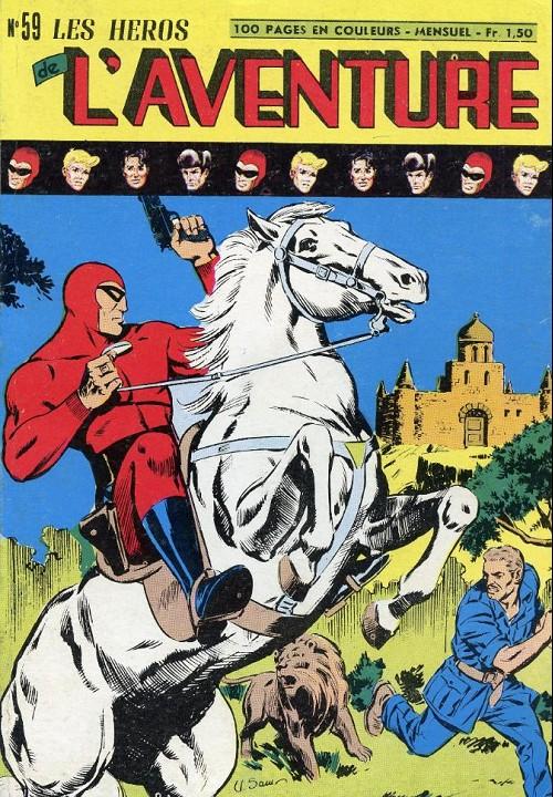 Couverture de Les héros de l'aventure (Classiques de l'aventure, Puis) -59- Le Fantôme : le jeu du prince ragon