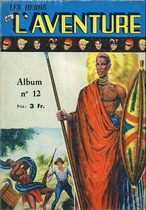 Couverture de Les héros de l'aventure (Classiques de l'aventure, Puis) -Rec12- Album N°12 (du n°34 au n°36)