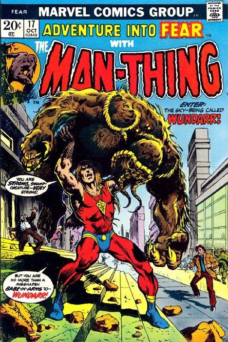 Couverture de Adventure into Fear (Marvel comics - 1970) -17- It Came Out of the Sky