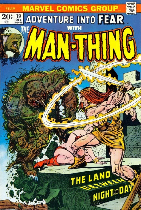 Couverture de Adventure into Fear (Marvel comics - 1970) -19- The land between night and day
