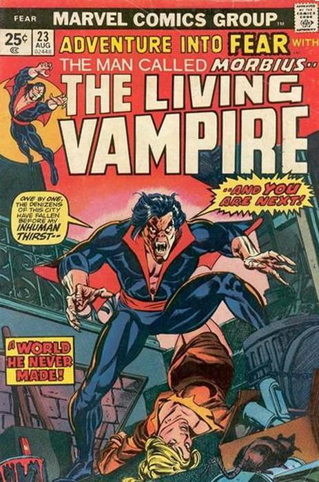 Couverture de Adventure into Fear (Marvel comics - 1970) -23- A world he never made!