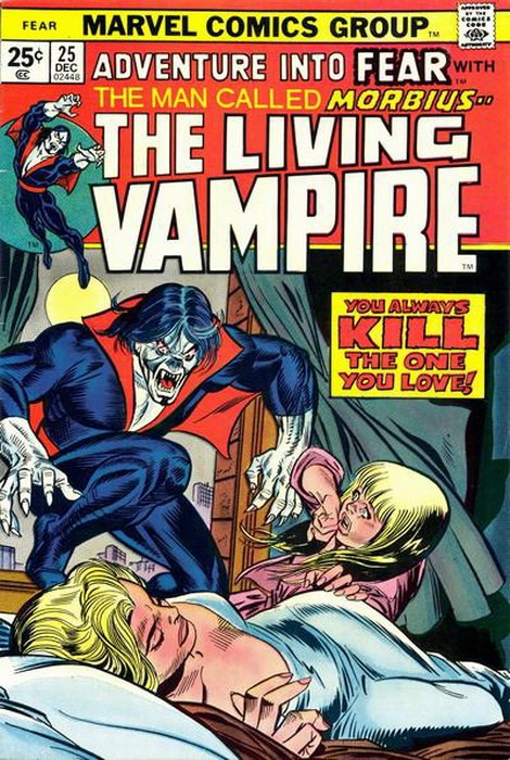 Couverture de Adventure into Fear (Marvel comics - 1970) -25- You always kill the one you love!