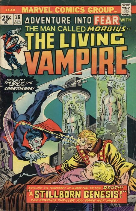 Couverture de Adventure into Fear (Marvel comics - 1970) -26- A Stillborn Genesis!