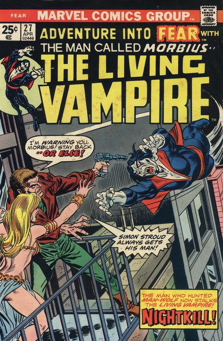 Couverture de Adventure into Fear (Marvel comics - 1970) -27- Nightkill!