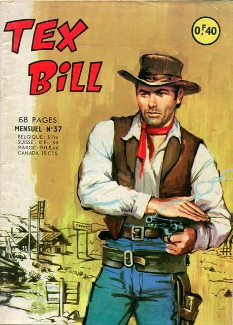 Couverture de Tex Bill -37- La vengeance du sorcier