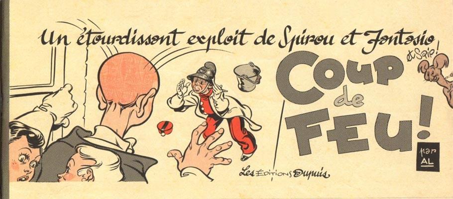 Couverture de Spirou et Fantasio -2- (Divers) -MR4066- Coup de feu !