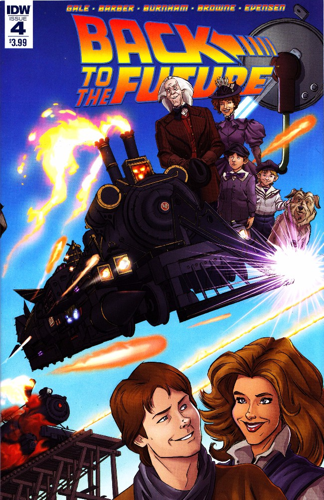 Couverture de Back to the Future (2015) -4- Untold Tales and Alternate Timelines #4