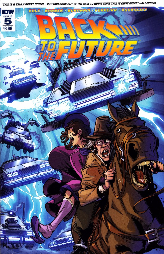 Couverture de Back to the Future (2015) -5- Untold Tales and Alternate Timelines #5