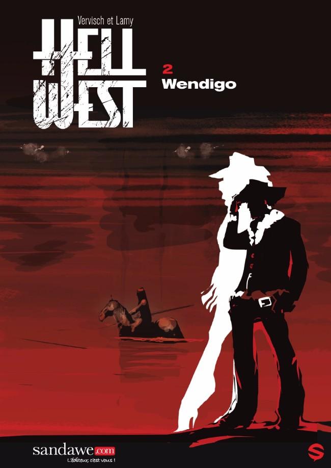 Couverture de Hell West -2- Wendigo