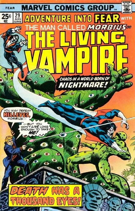 Couverture de Adventure into Fear (Marvel comics - 1970) -29- Death has a thousand eyes!