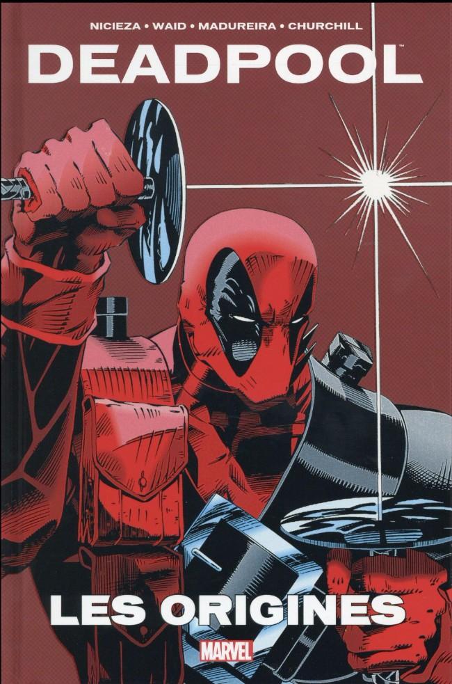 Couverture de Deadpool - Les Origines