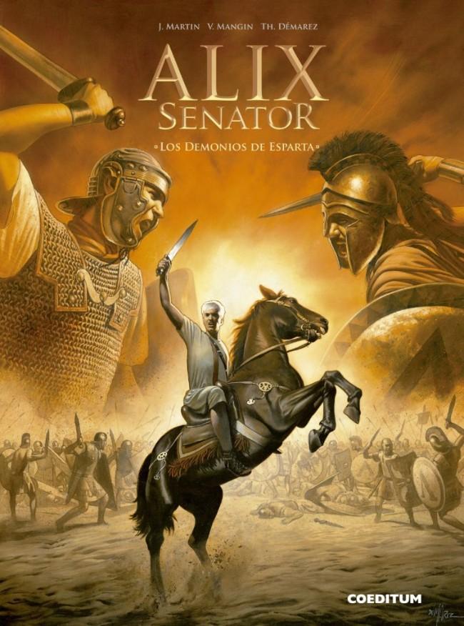 Couverture de Alix Senator (en espagnol) -4- Los Demonios de Esparta