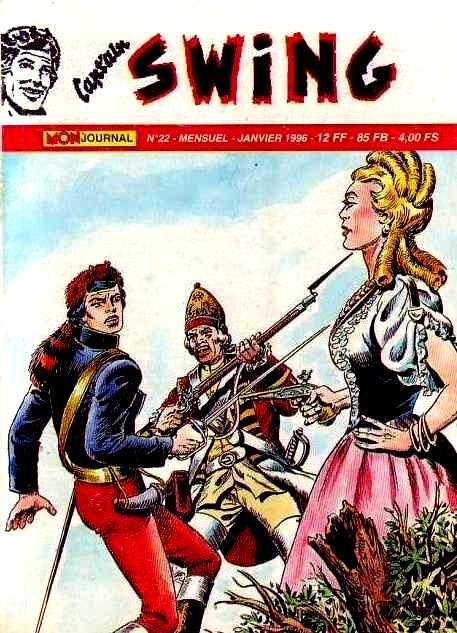 Couverture de Capt'ain Swing! (2e série - Mon Journal) -22- La fugue de Betty