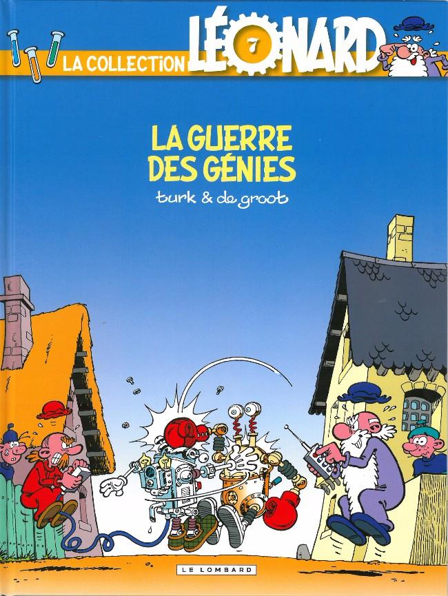 Couverture de Léonard - La Collection (Prisma Media) -710- La guerre des génies