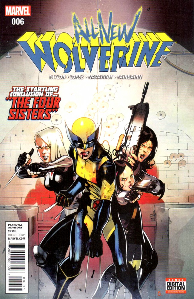 Couverture de All-New Wolverine (2016) -6- Issue 6