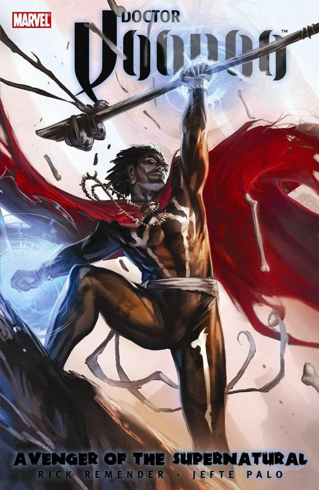 Couverture de Doctor Voodoo (2009) -INT- Avenger of the Supernatural