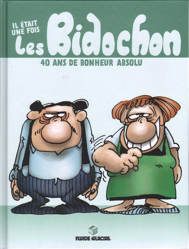 Couverture de Les bidochon -HS06- Il était une fois les Bidochon - 40 ans de bonheur absolu