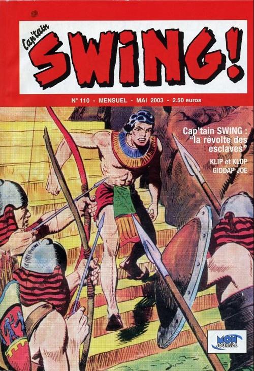 Couverture de Capt'ain Swing! (2e série - Mon Journal) -110- La révolte des esclaves