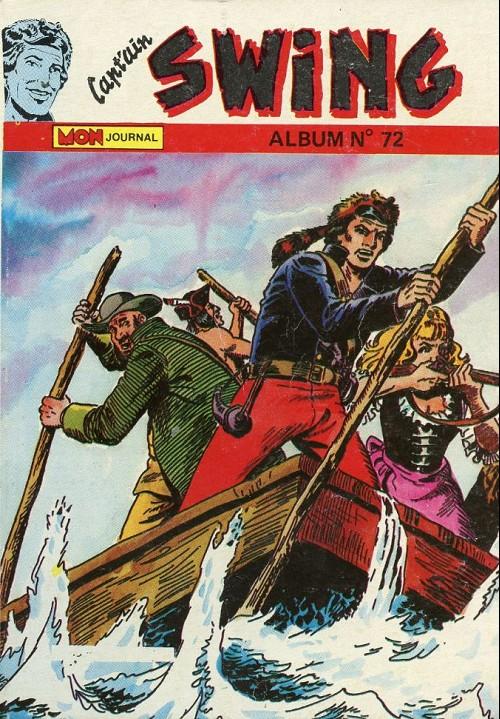 Couverture de Capt'ain Swing! (1re série) -Rec072- Album N°72 (du n°246 au n°248)