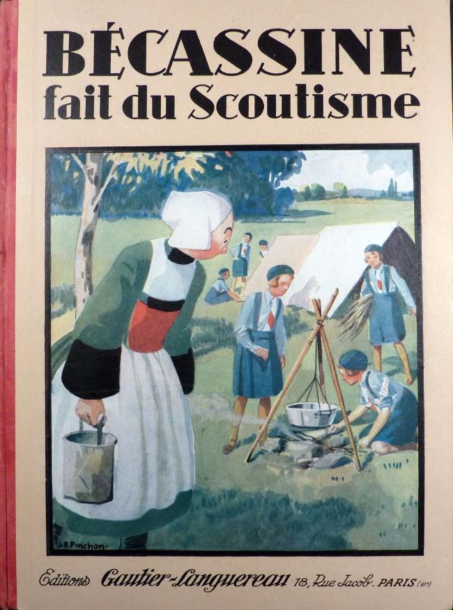 Couverture de Bécassine -17- Bécassine fait du scoutisme