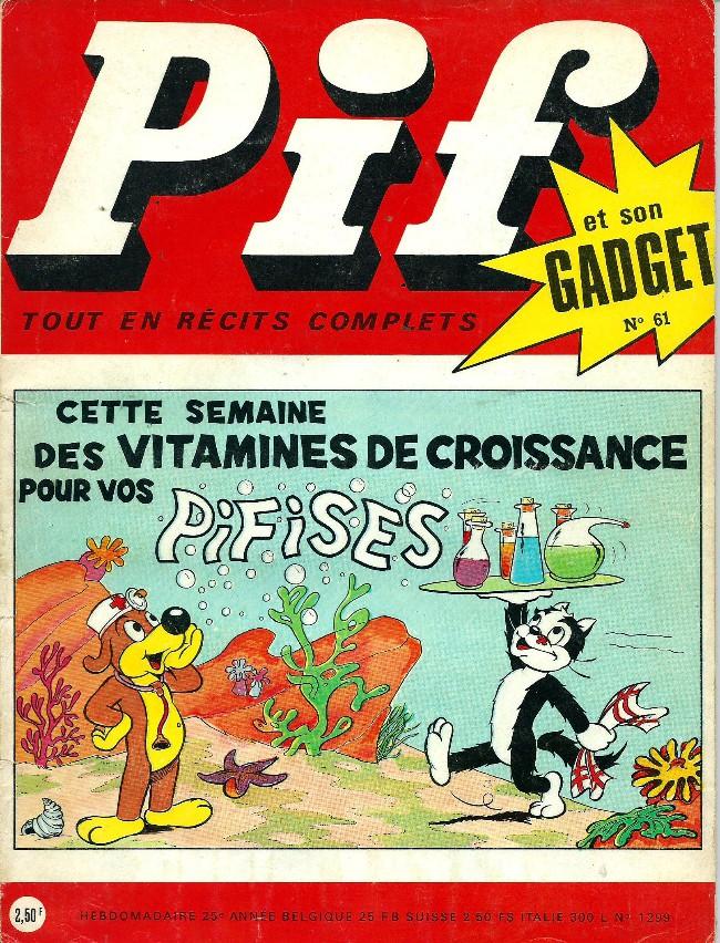 Couverture de Pif (Gadget) -61- Les Pifises