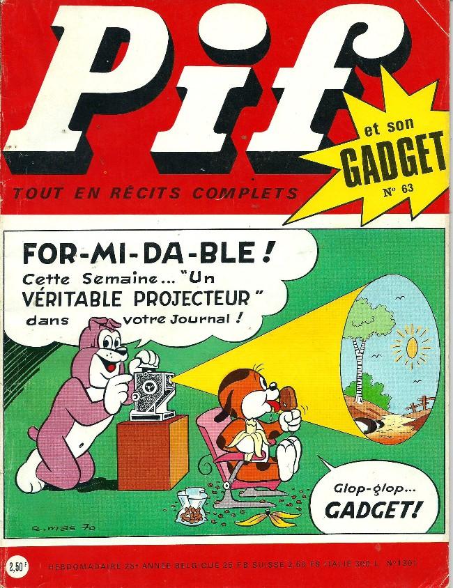Couverture de Pif (Gadget) -63- Pif champion du volant