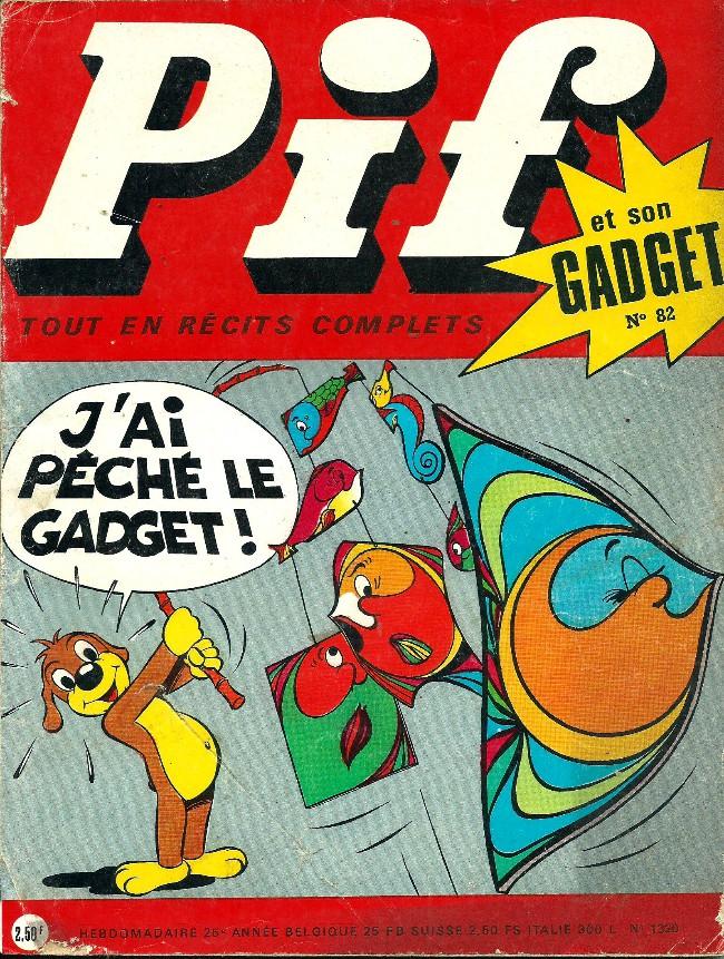 Couverture de Pif (Gadget) -82- Le chateau hanté