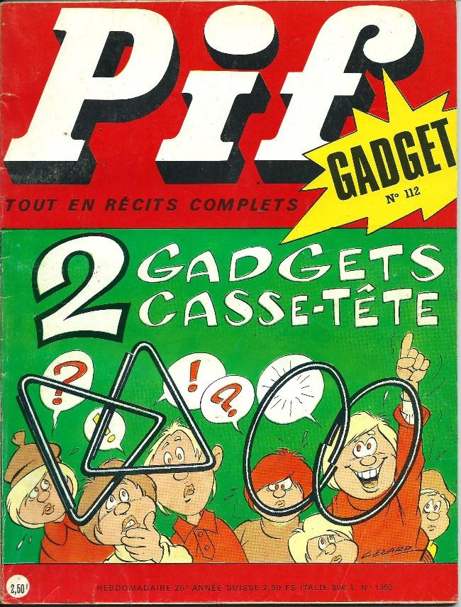 Couverture de Pif (Gadget) -112- Sans laisser d'adresse