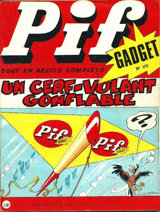 Couverture de Pif (Gadget) -124-