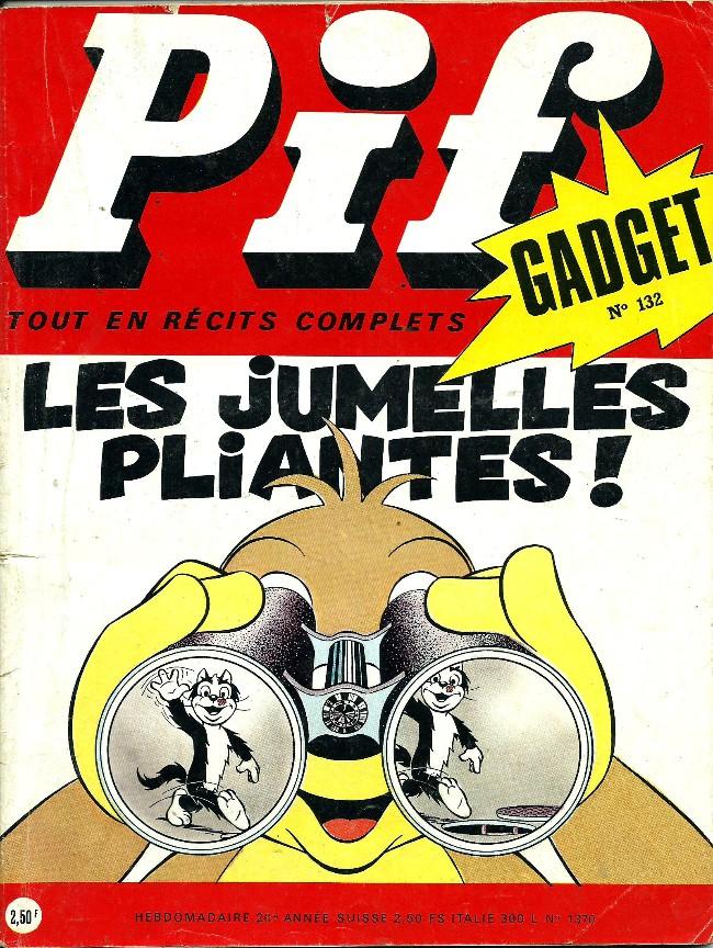 Couverture de Pif (Gadget) -132- Le voyage en ballon