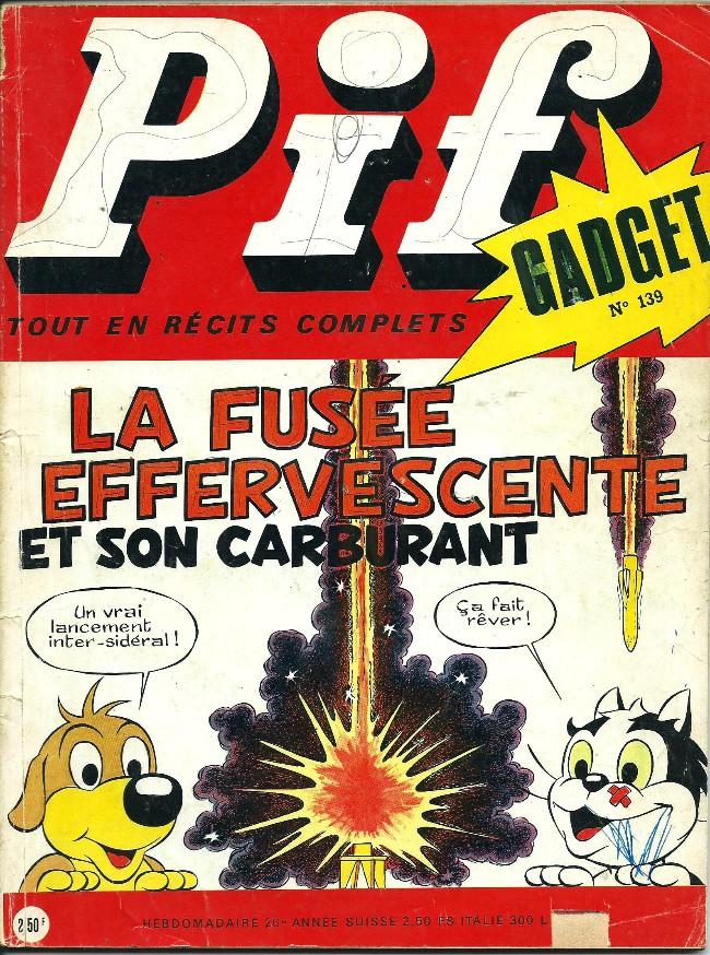 Couverture de Pif (Gadget) -139- Chaud et froid