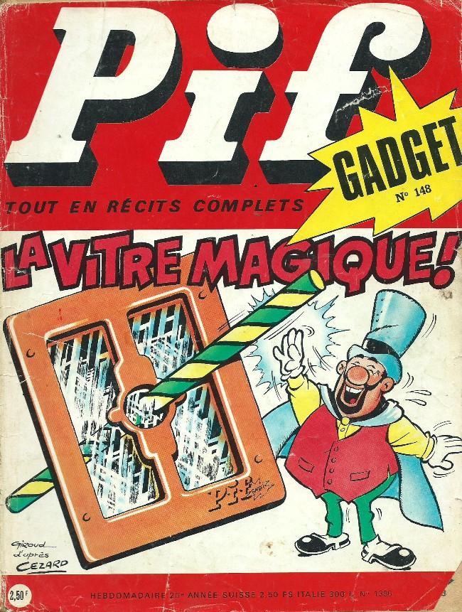 Couverture de Pif (Gadget) -148- Voici un reportage consacré au Père Noël