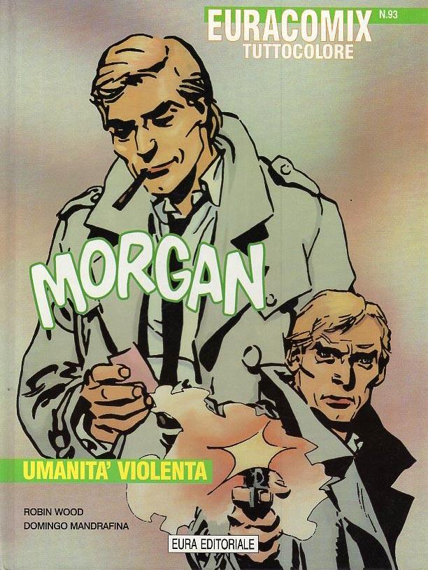 Couverture de Morgan (Mandrafina) - Umanita' violenta