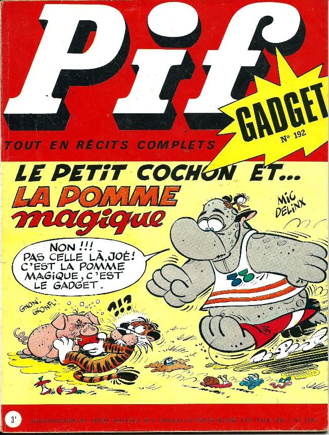 Couverture de Pif (Gadget) -192- Bonjour tristesse