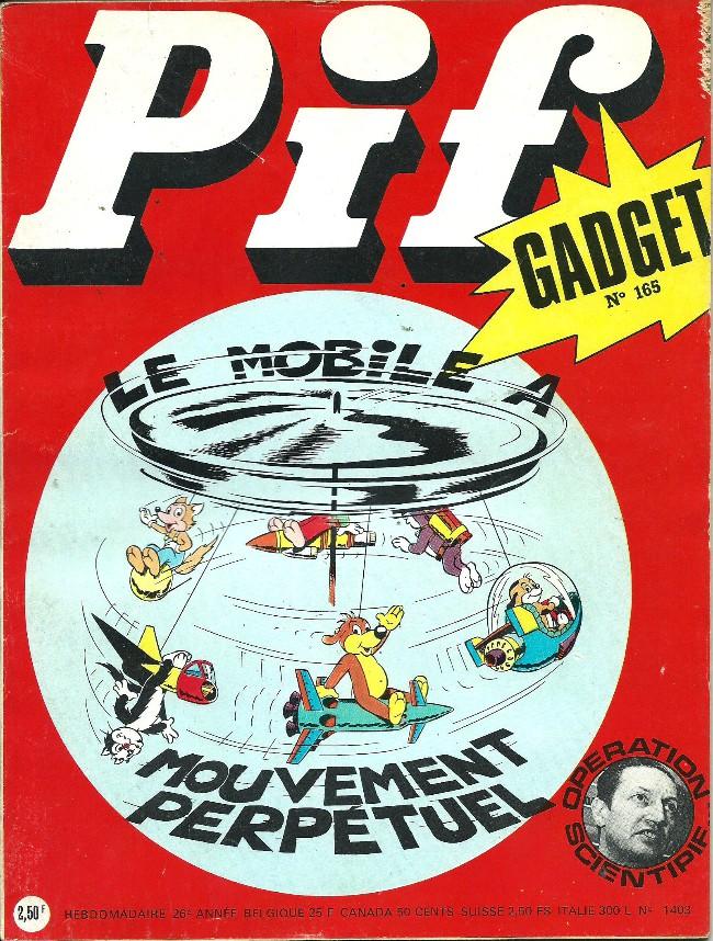 Couverture de Pif (Gadget) -165- Le roi d'harouamina