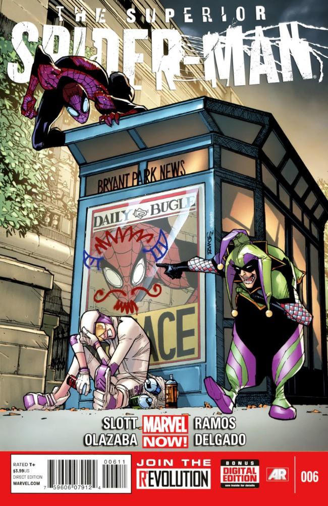 Couverture de Superior Spider-Man (The) (2013) -6- Joking Hazard