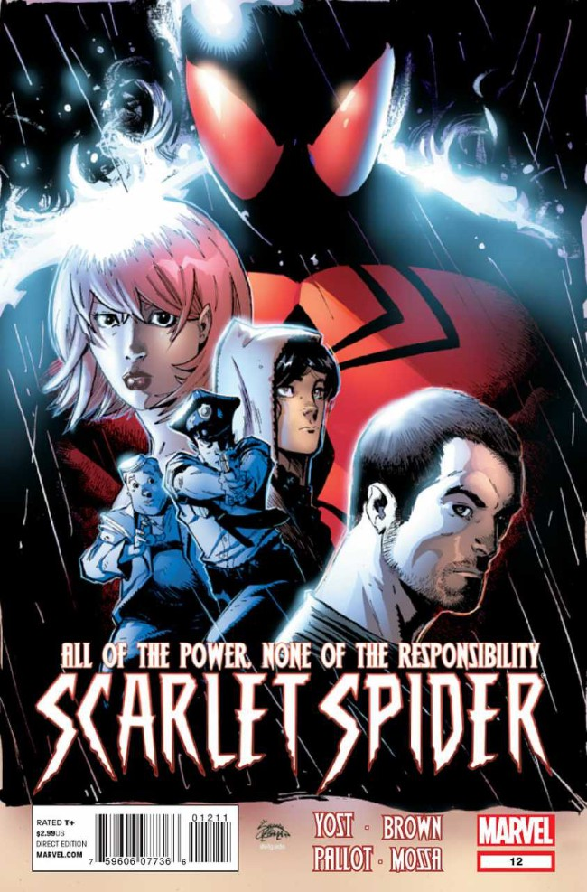 Couverture de Scarlet Spider (2012) -12- The Man in The Presidential Suite